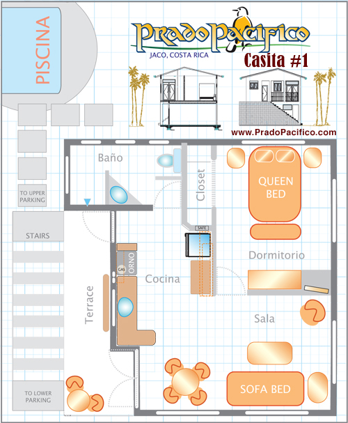 Prado Pacifico           Casita Plan